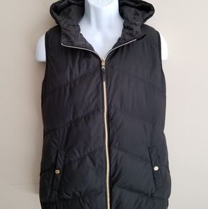 MICHAEL KORS Reversable Quilted Hooded Puffer Vest